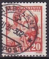 Suisse, 1935, Zu 75, 'AMBULANT' Oblitéré - Oblitérés