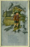 BERTIGLIA SIGNED 1920s POSTCARD - CIUFFFETTO - EDIZIONE MILANO - N.3033 (BG943) - Bertiglia, A.