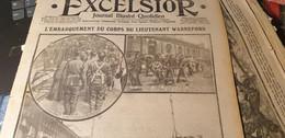 EXCELSIOR 15/ EMBARQUEMENT CORPS LIEUTENANT WARNEFORD /ARMEE SERBE /AVIATEURS PEGOUD GILBERT - 1900 - 1949