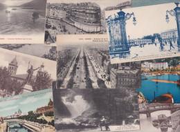 400 Cartes Postales Anciennes De France (type Drouille) (lot N°1) - 100 - 499 Postkaarten