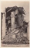 Long Beach California Earthquake Damage March 10, 1933, Wholesome Bakery Ruins, C1930s Vintage Real Photo Postcard - Long Beach