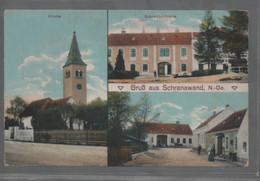 Gruss Aus Schranawand Ca.1900 Nicht Gelaufen - Baden Bei Wien