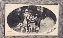 1543/ Anvers Laitiere Flamande, Hondenkar Met 3 Honden, Vrouw En Agent - Non Classés