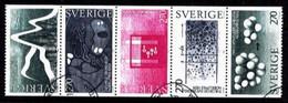 Mi. F.u. 1262-66,Nobelprize,  S200 - Blokken & Velletjes