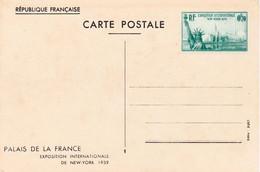 70c Exposition Internationale New York 1939 Neuf - Postales Tipos Y (antes De 1995)