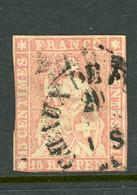 SWITZERLAND Used 1855 - Gebraucht