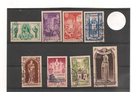 1951 MONACO  L'ANNÉE SAINTE N° Y/T :357/64 Oblitérés Côte: 110,00 € - Gebruikt