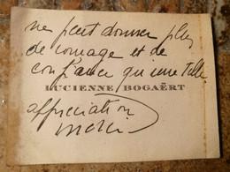 Lucienne Bogaert Actrice  1892/1983 - Handtekening