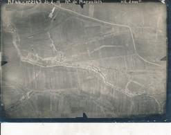 Photo Aérienne (17,5 X 13 Cm) - Guerre De 1914/18 - MARVOISIN (Meuse) - M.F.44 N°2143 - 21.2.16 (BP) - Guerra, Militares