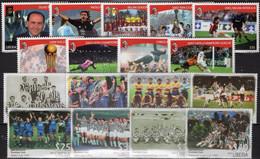 AC Mailand Italy 2002 Liberia 4534/1+ 5912/0 ** 31€ Fußballer Juventus Turin Spieler Football History Sets Soccers - Ongebruikt