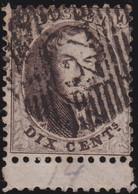 Belgie   .    OBP    .    14A (2 Scans)     .     O      .       Gebruikt   .   /   .   Oblitéré - 1863-1864 Médaillons (13/16)