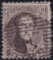 Belgie   .    OBP    .    14A    .     O      .       Gebruikt   .   /   .   Oblitéré - 1863-1864 Médaillons (13/16)