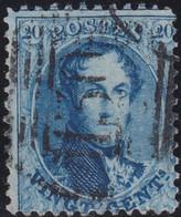 Belgie   .    OBP    .    15   .     O      .       Gebruikt   .   /   .   Oblitéré - 1863-1864 Medallions (13/16)