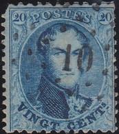 Belgie   .    OBP    .    15A   .     O      .       Gebruikt   .   /   .   Oblitéré - 1863-1864 Médaillons (13/16)
