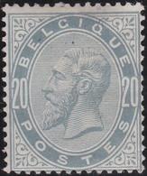 Belgie   .  OBP   .    39  (2 Scans)   .   *   .     Ongebruikt Met   Gom   .   /   .   Neuf Avec Gomme - 1883 Léopold II