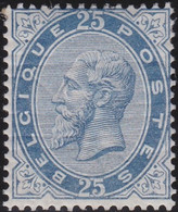 Belgie   .  OBP   .    40  (2 Scans)   .   *   .     Ongebruikt Met   Gom   .   /   .   Neuf Avec Gomme - 1883 Léopold II
