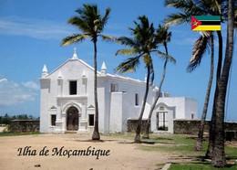 Mozambique Island Church UNESCO New Postcard Mosambik AK - Mozambique