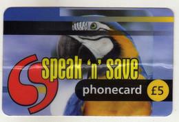 Phonecards - Topics > Animals > Birds > Parrots - Pappagalli