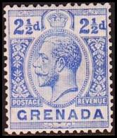 1921-1931. GRENADA. Georg V. 2½ D. Hinged. (MICHEL 90a) - JF410629 - Grenada (...-1974)