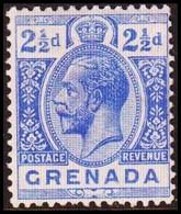 1921-1931. GRENADA. Georg V. 2½ D. Hinged. (MICHEL 90c) - JF410630 - Grenada (...-1974)
