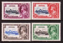 1935. GRENADA. Georg V. Jubilee. Set 4 Ex. Hinged. (MICHEL 116-119) - JF410633 - Grenada (...-1974)