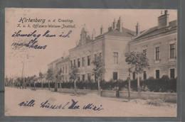 Hirtenberg An Der Triesting Kuk Offiziers Waisen Institut 1914 Gelaufen - Baden Bei Wien