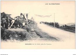 63 . N° 48179 . Caillois. Les Eliminatoires.course De Voitures.rallye.pilote.coupe Gordon-bennett - Altri Comuni