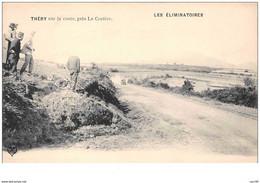 63 . N° 48178 . Thery. Les Eliminatoires.course De Voitures.rallye.pilote.coupe Gordon-bennett - Altri Comuni