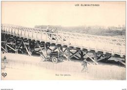 63 . N° 48162 . Sur Les Ponts . Les Eliminatoires.course De Voitures.rallye.pilote.coupe Gordon-bennett - Altri Comuni