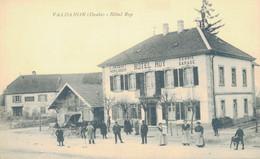 J129 - 25 - VALDAHON - Doubs - Hôtel Roy - L. Jacquet Horloger - Ecurie Garage - Andere Gemeenten