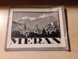 Old Brochure, Guide, Little Book, Merano, Meran - Italy, Danish, Denmark - Scandinavian Languages