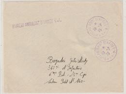 13675 BUREAU AMBULANT D'ARMÉE 4.A. Sur Devant De Lettre - Le 16/7/15 - Oorlog 1914-18