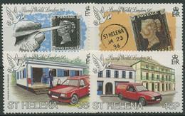 St. Helena 1990 STAMP WORLD LONDON Penny Black 526/29 Postfrisch - St. Helena
