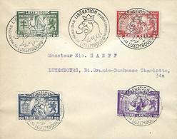 Luxembourg - Luxemburg - Lettre 1945 - Libération - 1940-1944 Deutsche Besatzung