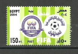 Egypt - 2004 - ( FIFA - ( F'ed'eration Internationale De Football Association ), Cent. ) - MNH (**) - Otros
