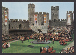 111297/ CAERNARFON, Castel, Investiture Of H.R.H. Prince Charles Of Wales, 1st July 1969 - Caernarvonshire