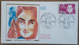 FDC 1984 - YT N°2303 - HOMMAGE AUX FEMMES / FLORA TRISTAN - PARIS - 1980-1989