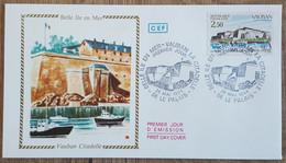 FDC 1984 - YT N°2325 - BELLE ILE EN MER / VAUBAN LA CITADELLE - LE PALAIS - 1980-1989