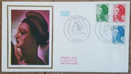 FDC 1984 - YT N°2318 à 2320 - LIBERTE DE DELACROIX - PARIS - 1980-1989