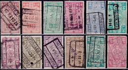 Belgium 1923-40, Parcel Post And Railway, Used - 1923-1941