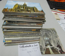 CATHEDRALE Que Des CATHEDRALES . France . Lot De 300 Cartes - 100 - 499 Postkaarten