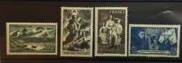 FRANCE 1943 Série 582 à 585 Neuf** - Neufs