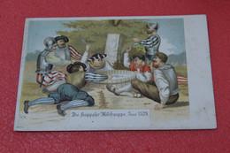 Schwyz Illustrateur W. St. Die Kappeler Milchsuppe 1899 TOP Quality - SZ Schwyz