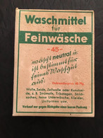 Lessive Washmittel Plein Pour Uniforme Allemand Landser Ww2 Militaria Original - 1939-45