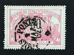 TR21 Telegraafstempel TROIS-PONTS - 1895-1913