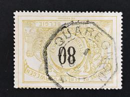 TR24 Telegraafstempel QUAREGNON - 1895-1913