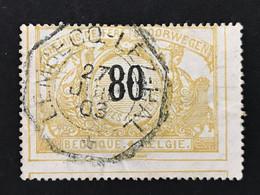 TR24 Telegraafstempel LEMBECQ-LEZ-HAL - 1895-1913