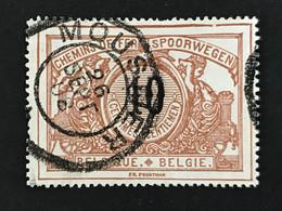 TR15 Telegraafstempel MOUSTIER - 1895-1913