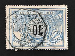 TR23 Telegraafstempel QUAREGNON - 1895-1913