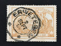 TR27 Telegraafstempel ERWETEGEM - 1895-1913